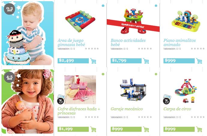 28a3eeb9 Las mejores tiendas online México para niños | Niños Felices